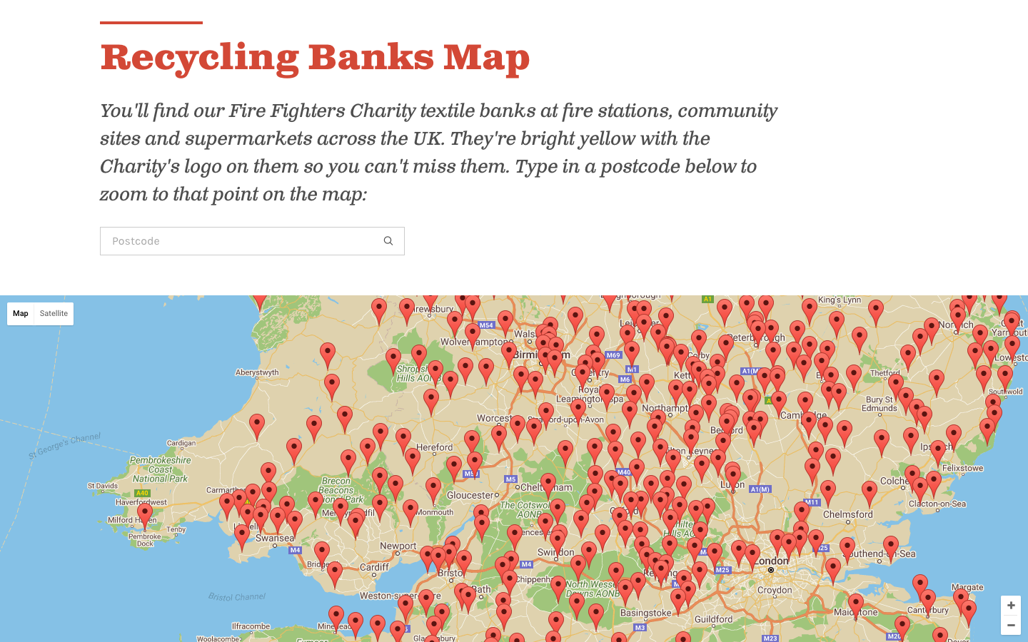 Fire Fighters Map